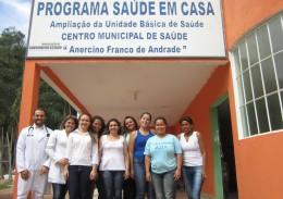 A equipe do PSF Amigos da Saúde, em Durandé. Foto: Rafaella Arruda.