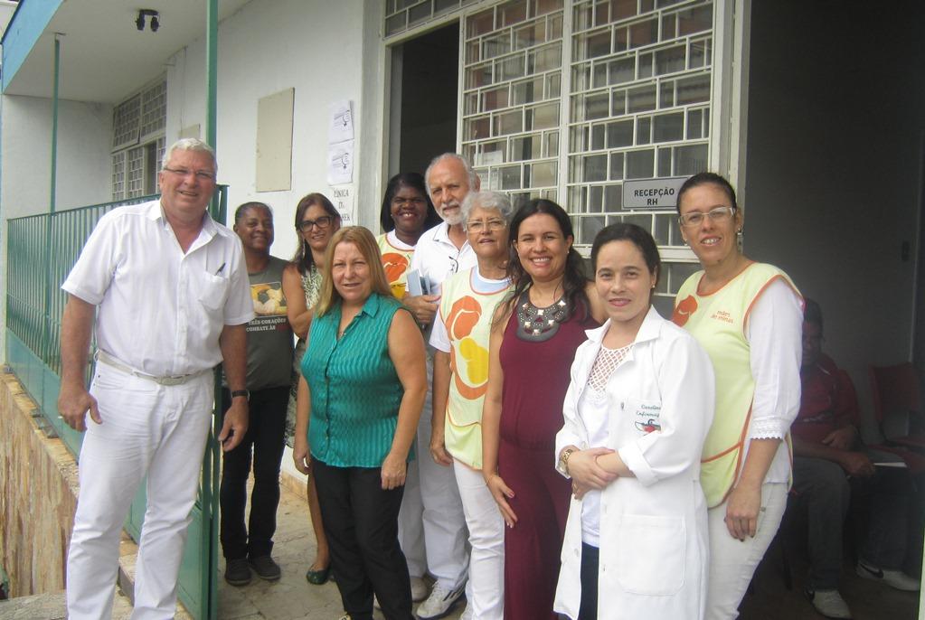 Equipe da Clínica da Mulher, em Três Corações. Foto: Rafaella Arruda.