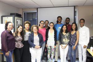 Integrantes do GTRI com João Carlos Pio. Foto: Carol Morena.